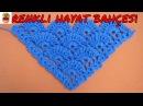 Üçgen Kat Kat Şal Modeli - Tığ İşi Örgü Anlatımlı Yapılışı