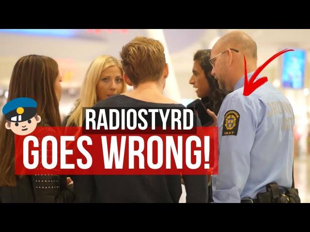 Radiostyrd Vi får en varning