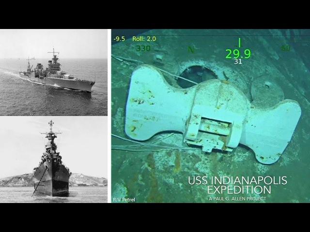 На дне Тихого океана нашли крейсер «Индианаполис» (новости)