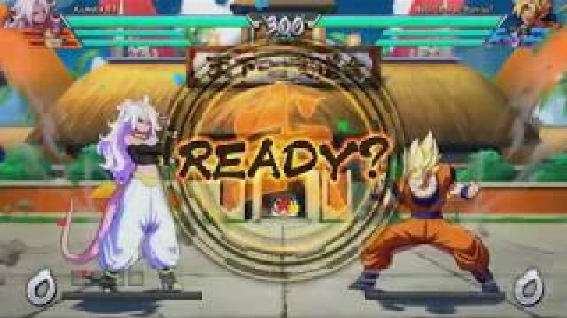 Dragon Ball FighterZ - Android 21 Lutando Com Geral