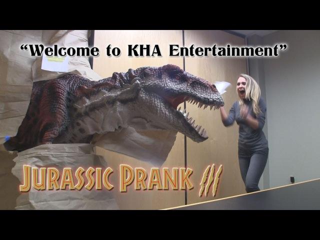 Jurassic Prank 3 - Welcome to KHA Entertainment!