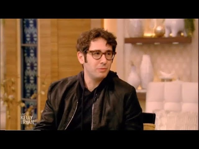 'The Good Cop' star Josh Groban Interview 2018 on Live with Kelly and Ryan