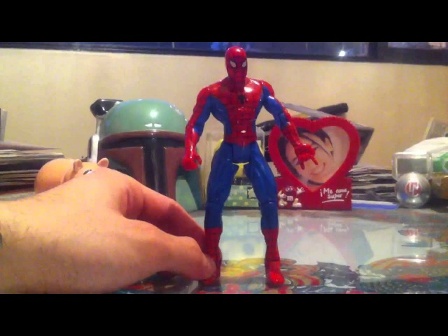 Toy Biz Web Cannon Spider-Man HD Review