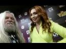 Анастасия Спиридонова дает интервью Волшебнику на ШАНСОНЕ