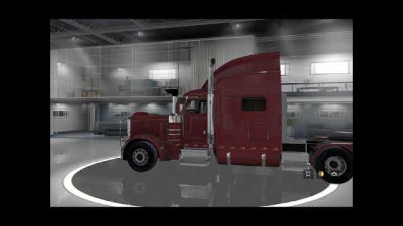 [ETS2]Euro Truck Simulator 2 Peterbilt 389 Tuned
