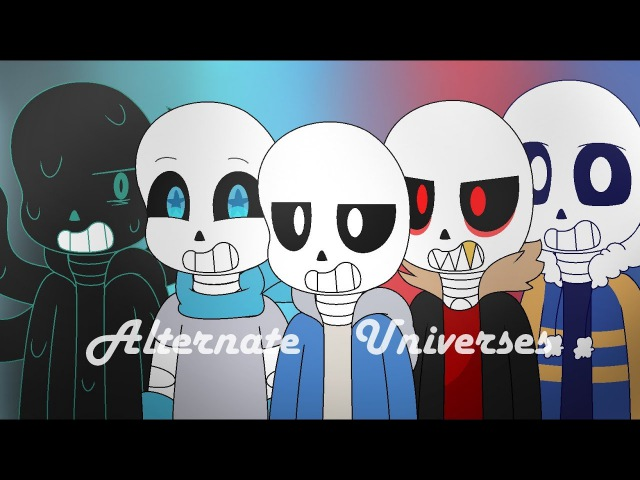 [Animation] - Turn The Lights Off Alternate Universes - Undertale
