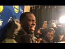Draymond Green on Drake's Trash Talk - Postgame Interview | Warriors vs Raptors | 2017-18 NBA Season
