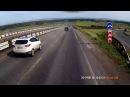 Авария жесть с участием дорожниковНе внимательность водителя, Игнор дорожных з...