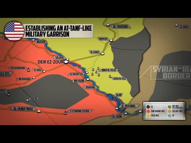 20 марта 2018 Военная обстановка в Сирии Сообщения о создании новой базы США на востоке Сирии смотреть онлайн без регистрации