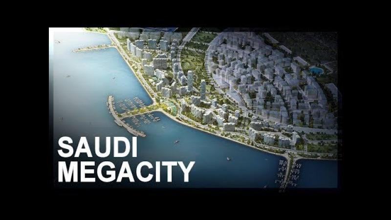 Geo economics of Saudi Arabia's NEOM project