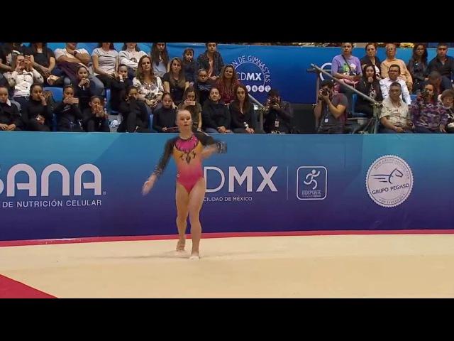 Ангелина Мельникова (RUS) FX AA @ Abierto de Gimnasia Mexico 2017