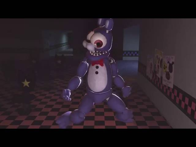 [FNAF SFM] Funny moments (five night at freddy's)ANIMOTION