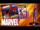 Герои MARVEL 3D. Официальная коллекция 1 - Человек-Паук