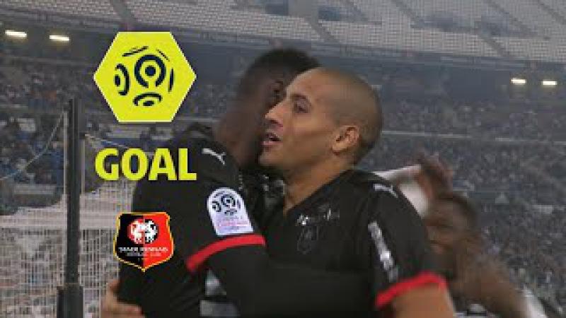 Goal Wahbi KHAZRI (2) Olympique de Marseille - Stade Rennais FC (1-3) 2017-18