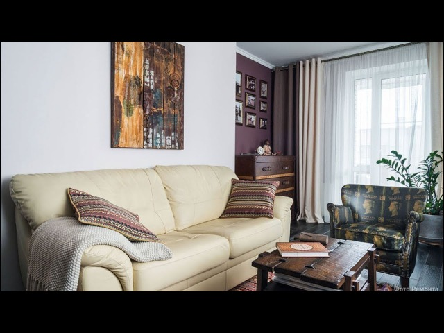 Дизайн двухкомнатной квартиры в Санкт-Петербурге