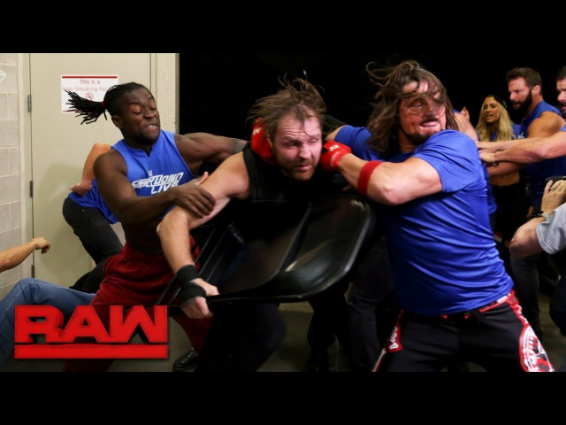 Monday Night Raw falls under siege when SmackDown launches a surprise attack: Raw, Oct. 23, 2017