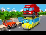 STREET CARS COLORS for Children - Learning Educational Video  Learn Vechicles Kids  Nursery Rhymes