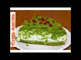 Торт Лесной мох - новогодний, необычный, нежныйCake Forest Moss - X-mas, unusual, tender