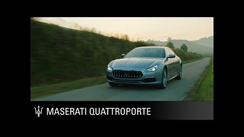 Maserati Quattroporte. The original race-bred luxury sedan. Since 1963