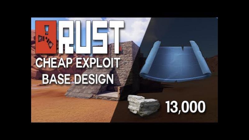 Rust EXPLOIT Base Design! Rust Duo Base Design - Rust Base Building (13,000 Stone)