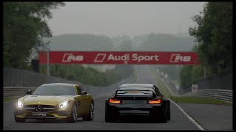 Mercedes-Benz AMG GT GT3`16. Autodrome Lago Maggiore GP2. GT SPORT gameplay.