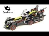Lego Batman Movie 70917 The Ultimate Batmobile - Lego Speed Build