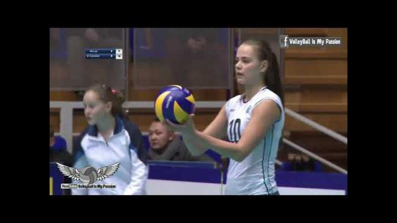 [HD] Dinamo-Metar vs Sakhalin | 26-10-2017| Russia Superleague Women Volleyball 2017/2018