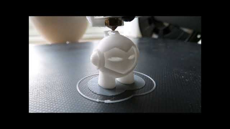 3D printing Marvin with the 💙 JGAURORA A5 💙