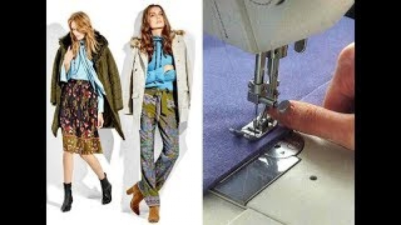Как шить трикотаж на обычной швейной машинке