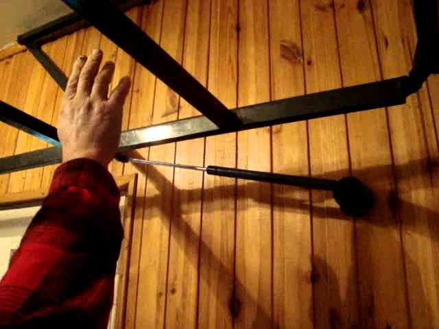 Самодельная лестница на чердак / Eigenbau Treppe / Homemade ladder