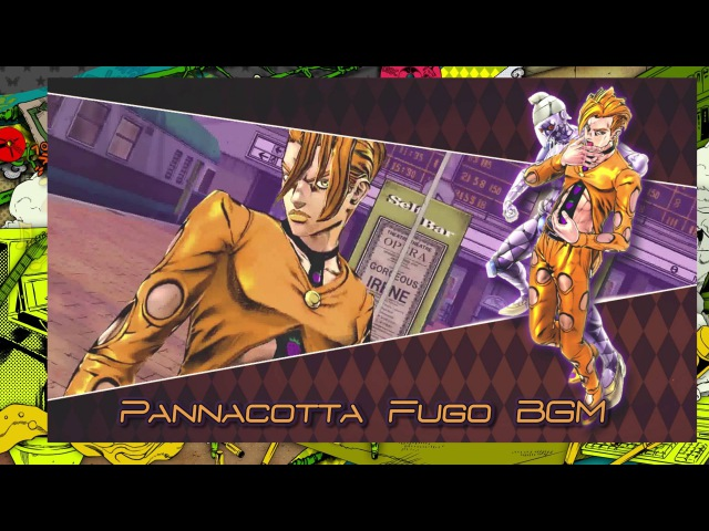 JoJo's Bizarre Adventure: Eyes of Heaven OST - Pannacotta Fugo Battle BGM