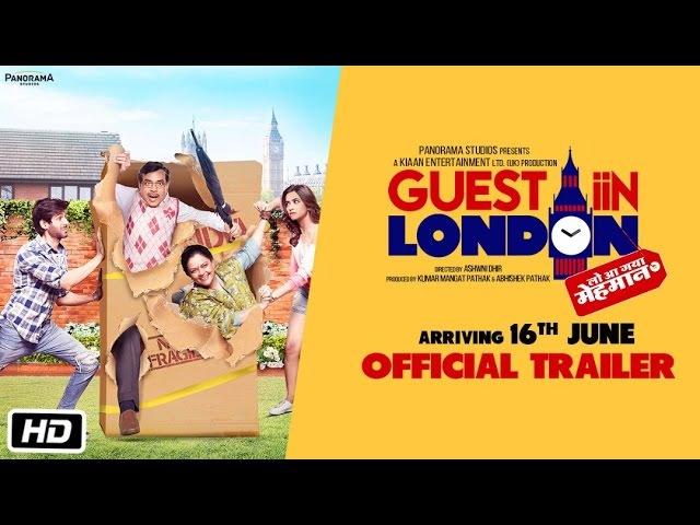 Guest iin London Official Trailer Paresh Rawal Kartik Aaryan Kriti Kharbanda Tanvi Azmi