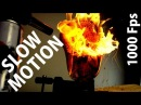 SLOW MOTION - FIRE / ОГОНЬ / نار / ATEŞ / FOGO / INCENDIO / FEUER / FUEGO / 火 / 火事 / ( 1000 FPS )