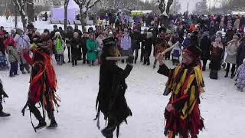 Старинный английский народный танец (Моррис).