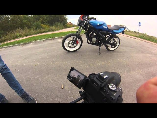 Yamaha Tzr Stunt