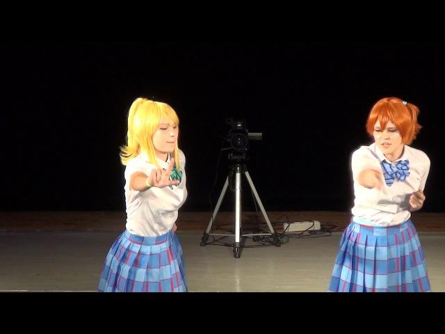 M.O.con 2017: косплееры Irio и Miru (Love Live! School Idol Project)