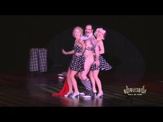Two Ladies - Burlesque with Swing Time! Pink Lady, Edie En Garde & Russell Bruner