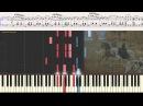 Вальс - Г. Свиридов Метель Ноты и Видеоурок для фортепиано piano cover