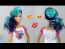 Barbie Hairstyles 👸 How To Reroot Barbie Hair 💋 Barbie Doll Makeover 10
