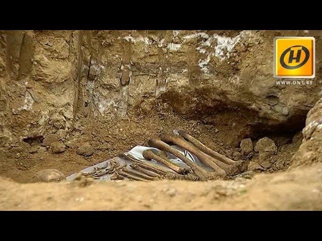 Останки солдат обнаружили строители на месте строительства ТРЦ