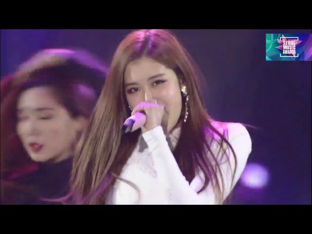 BLACKPINK - 마지막처럼 (AS IF ITS YOUR LAST) @Seoul Music Awards 2018 27th 서울가요대상 180125