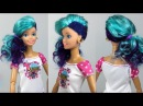 Barbie Doll Hairstyles and New Clothes 😘 DIY Barbie Doll Makeover 😘 How To Fix Doll Hair 5