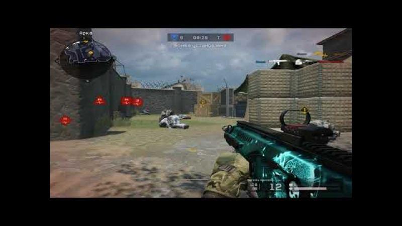Warface:Ultrakill60|Clutch 1vs4