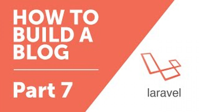 Part 7 - Partials with Blade [How to Build a Blog with Laravel 5 Series]