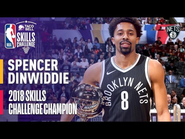 Taco Bell Skills Challenge | Spencer Dinwiddie | NBA All-Star Weekend 2018