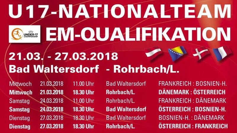 24.03.2018 | UEFA U17 EM | Österreich - Bosnien Herzegowina