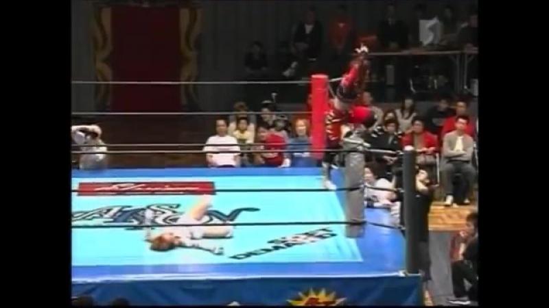 Ai Fujita vs. Chaparrita ASARI (2)