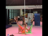 Pole Dance Duet Synchronous, Moscow 2017