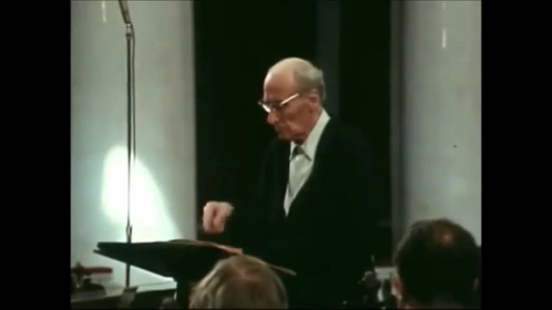 д. Шостакович 8 симфония 3 часть Токката. Дир. Е. Мравинский.