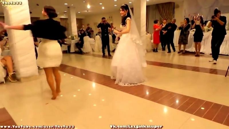Супер Лезгинка на Свадьбе ..[Зажигательный танец девушки ]